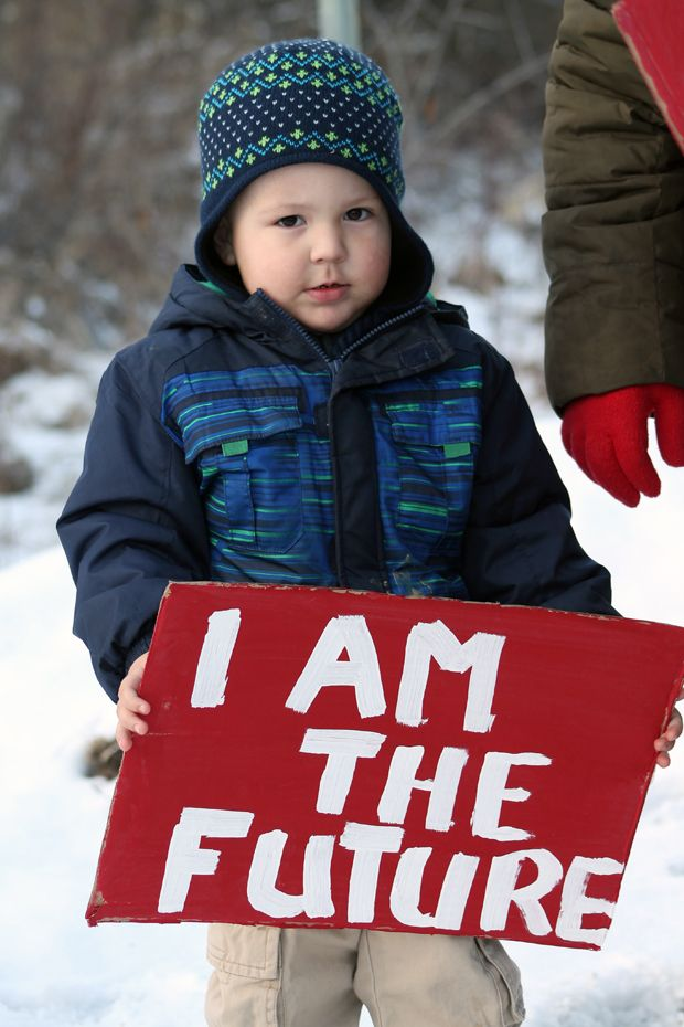 Idle No More- I Am The Future Photo By:Nathan Ogden