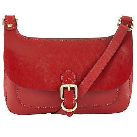 Buy John Lewis Penny Leather Mini Across Body Bag Online at johnlewis.com