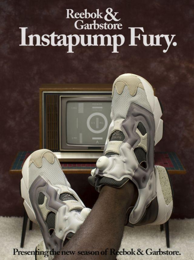 GARBSTORE x REEBOK INSTA PUMP FURY (COLOUR TRANSMISSION) | Sneaker Freaker