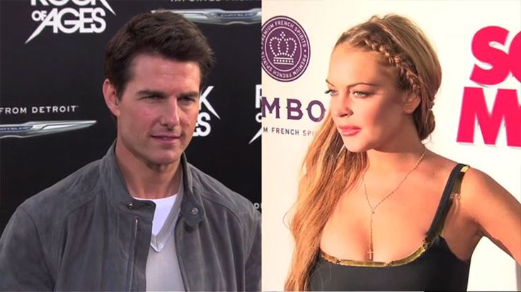Rumors that Tom Cruise and Lindsay Lohan were dating each other started flying last week when OK! Magazine reported the two were secretly meeting together.
