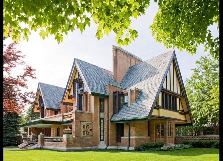 Oak Park with its Frank Lloyd Wright homes voted Travel & Leisure: America's Most Beautiful Neighborhoods (PHOTOS)