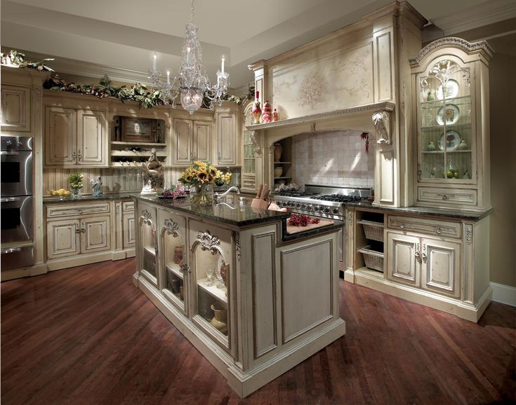 French Kitchen Decor   French Kitchen Has A Fantastic Look. The French  Kitchen Style Depends On Natural Things, Rustic, Soft Tones And Calm  Shadows.