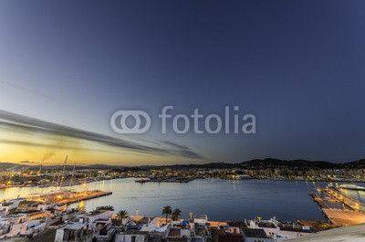 Veduta #Ibiza #Città #Castello
