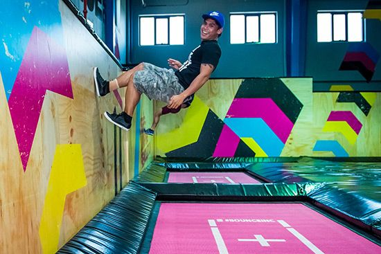 How much joy can there be in jumping? Head to Bounce trampoline park in Al Quoz and find out! Jump, spring and leap across more than 100 interconnected trampolines housed in the huge, colourful space.