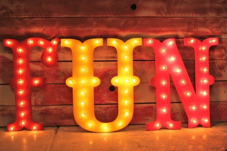 "Circus Carnival Vintage Marquee Letters 24"" Wood. $99.00, via Etsy.:"