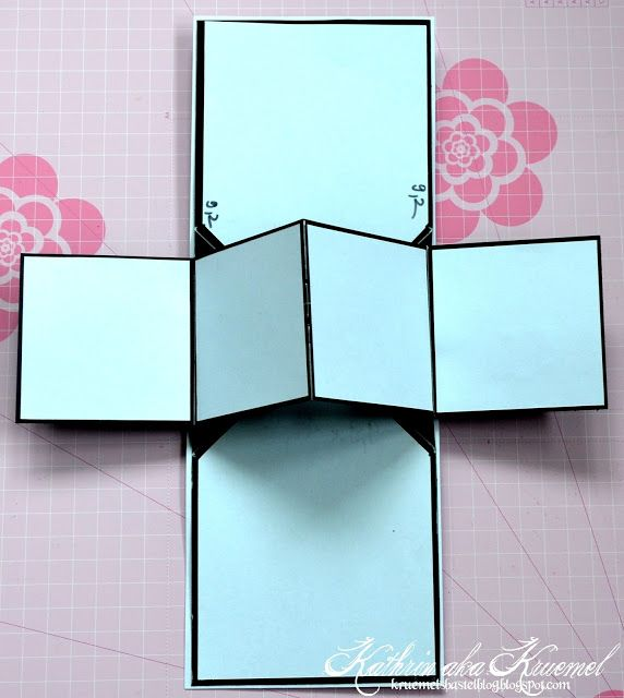 Stempeleinmaleins: Pop-Up Panel Karte - Pop-Up Panel Card
