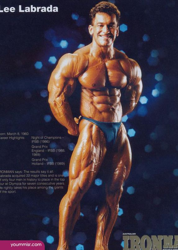 Lee Labrada steroids twitter Bodybuilding training videos