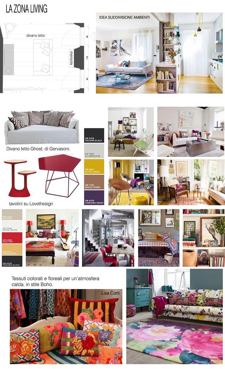 progettazione di interni #homestaging #livingroom