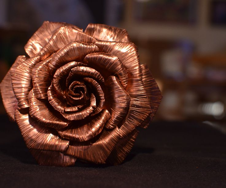 The copper rose is an easy, affordable project that requires minimal time or tools to make.      I have always wanted to ...