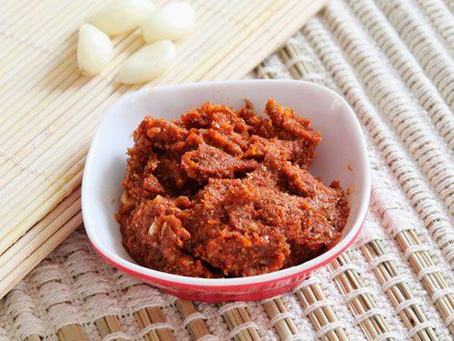 Lasun Chutney for bhel