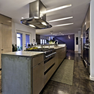 Concrete Kitchen Floor Design
