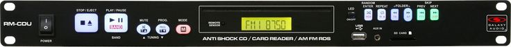 Galaxy Audio RM-CDU Rackmount CD Player