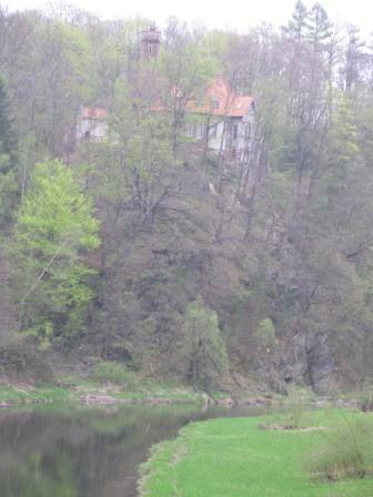 widok na zamek od Stankowic