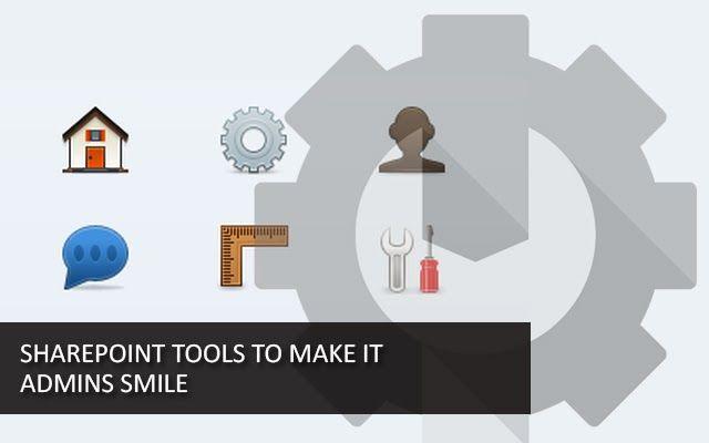 15 free SharePoint tools to make IT admins smile http://free-sharepoint-tools.pen.io/