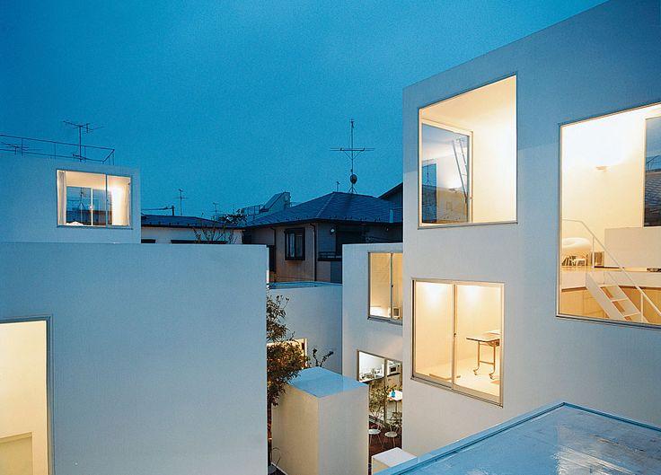Moriyama house architect ryue nishizawa location tokyo for Architecture japonaise