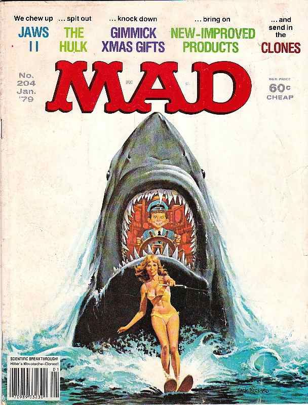 MAD Magazine - read these all the time.  Back then they made fun of everybody not just conservatives.