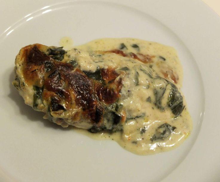 Rezept Bärlauch-Sahne-Hähnchen von Schirmle - Rezept der Kategorie Hauptgerichte mit Fleisch