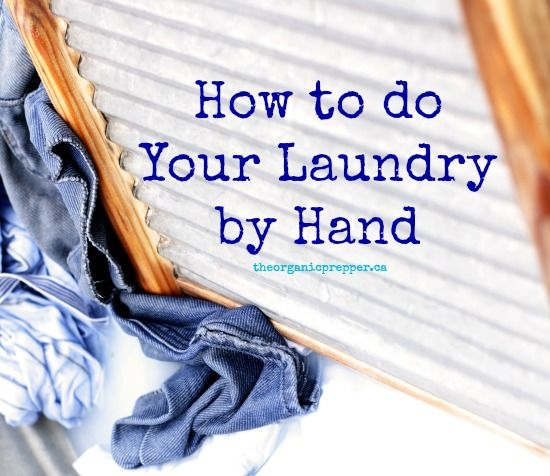 Being able to do your laundry by hand is a valuable skill to have. There's more to it than dunking your clothes in some soapy water.