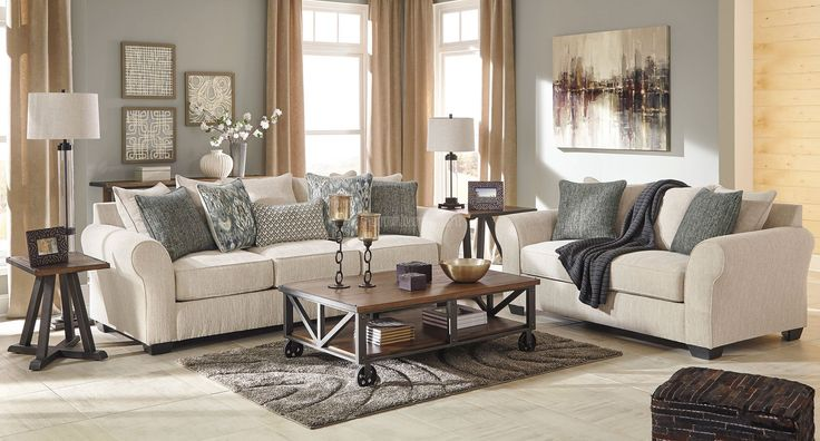 Silsbee Sepia Living Room Set Benchcraft Furniture Cart Lovely Living Rooms Pinterest