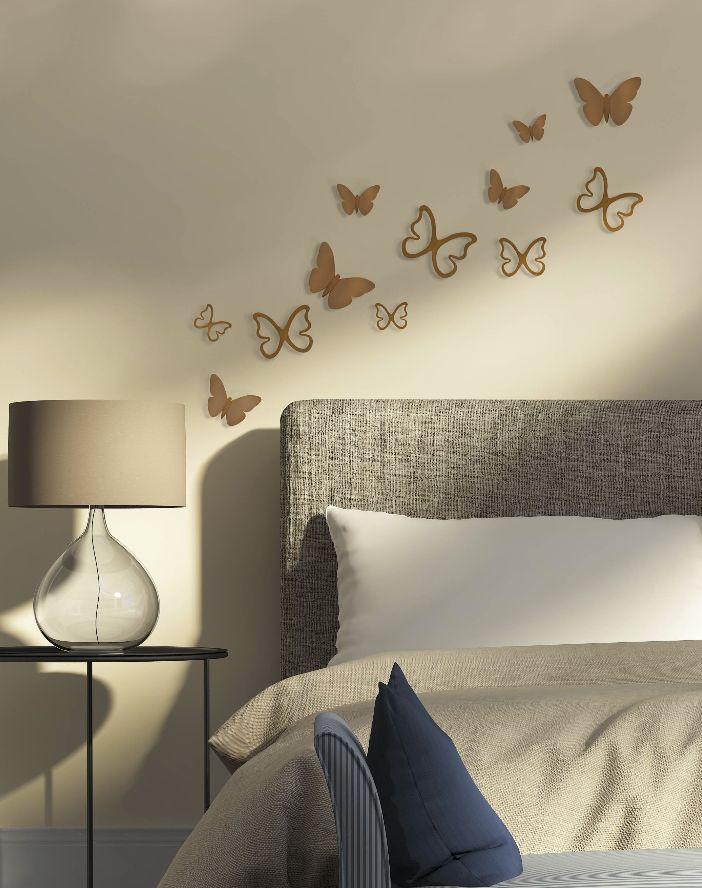 Los viniles decorativos en 3D le darán a tu hogar mucha originalidad.