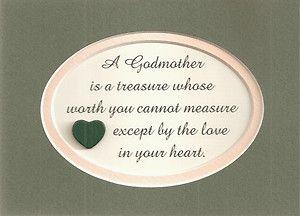 godmother poem | ... Love Measure Heart Christian Baptism Verses Poems Plaques | eBay