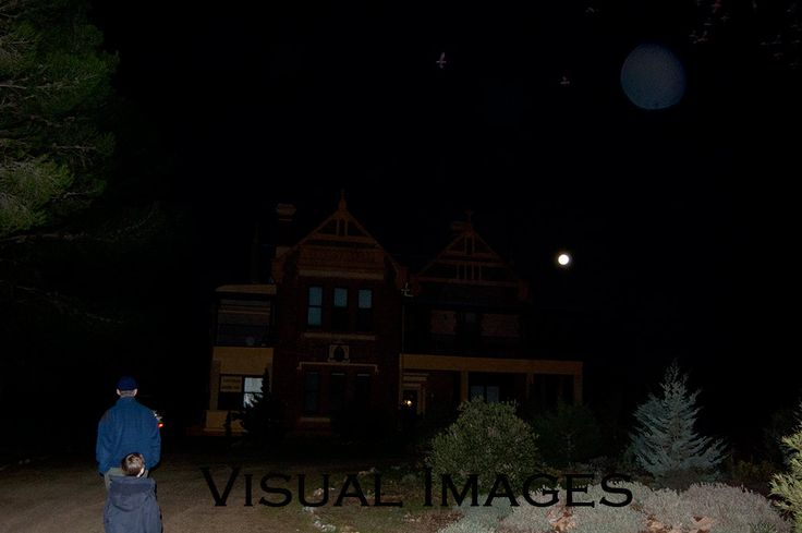 We stayed in the haunted Saint Cecilia Heritage Mansion Hotel...can you see our ghost?