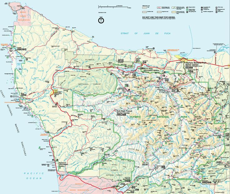 Washington Olympic National Park Map | Olympic National Park Map See map details From www.thebackpacker.com