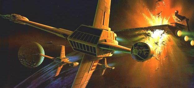 Star War concept art by Ralph McQuarrie