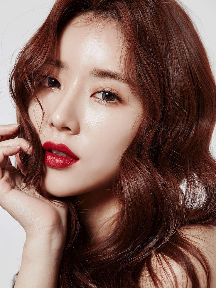 Red lips, #korean makeup, #3ce