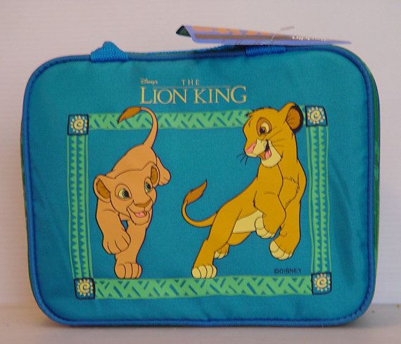 Lion King Lunch Box Thermos New with Tags by VintageUpcycled
