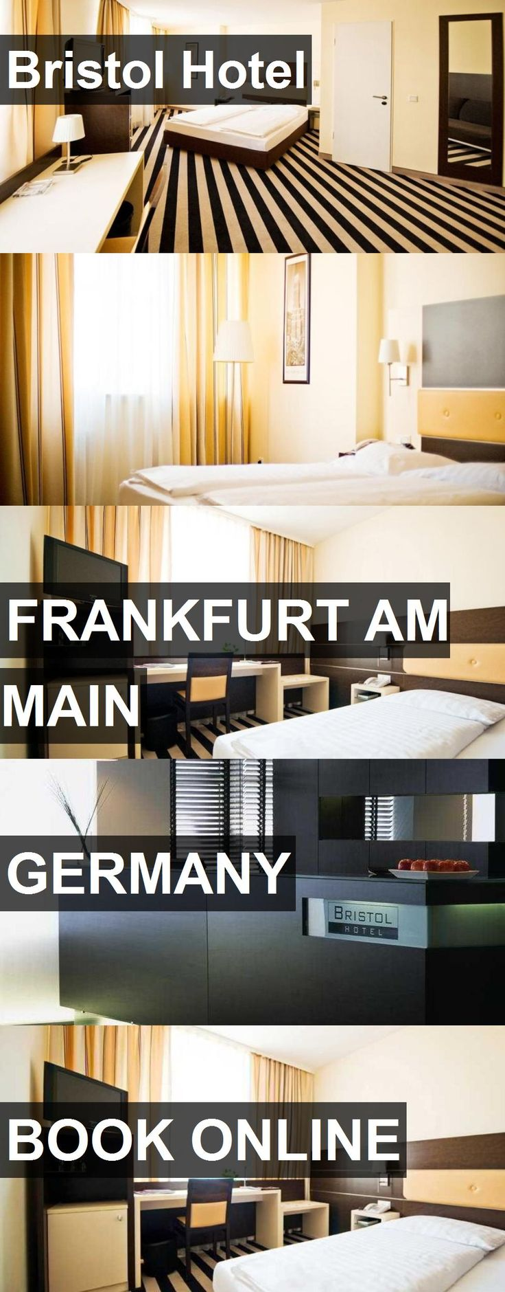 Hotel Bristol Hotel in Frankfurt am Main, Germany. For more information, photos, reviews and best prices please follow the link. #Germany #FrankfurtamMain #BristolHotel #hotel #travel #vacation
