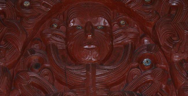 Te Papa museum Wellington - Maori Sculpture