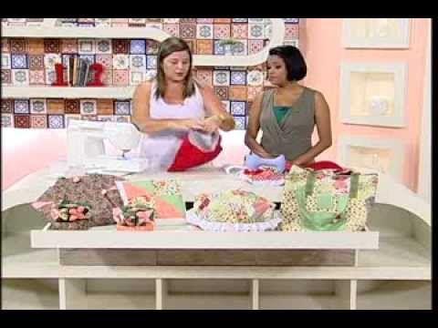 Artesanato - Bolsa de tecido