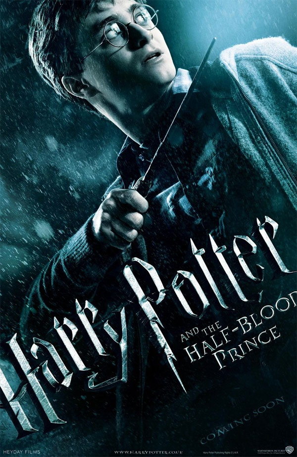 Harry Potter challenge Day 13. Your least favorite movie: Half Blood Prince.