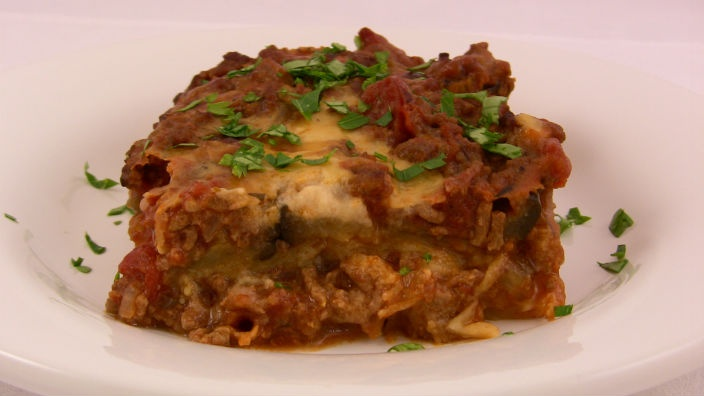 Lasagne - ultimate comfort food, this lovely lasagne is low fat. It's Italy on a plate.
