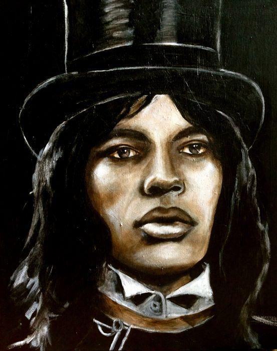 ☆ Mick Jagger :¦: Artist Rebecca Miller ☆