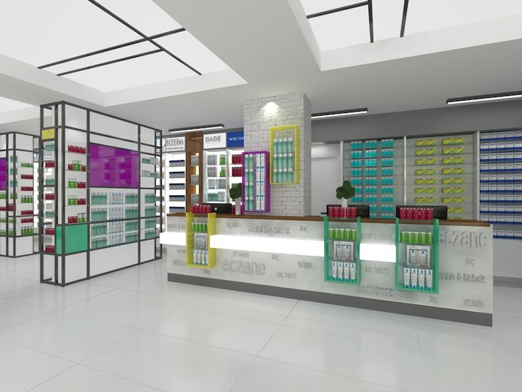 Pharmacy design #pharmacy #eczane #interiordesign #hospital #medicine
