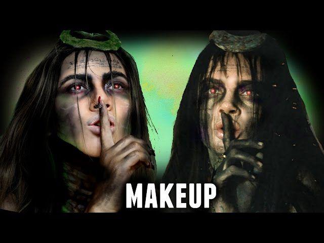 ENCHANTRESS MAKEUP TUTORIAL (Suicide Squad Halloween Costume Idea 2016) - Video --> http://www.comics2film.com/enchantress-makeup-tutorial-suicide-squad-halloween-costume-idea-2016/  #Cosplay