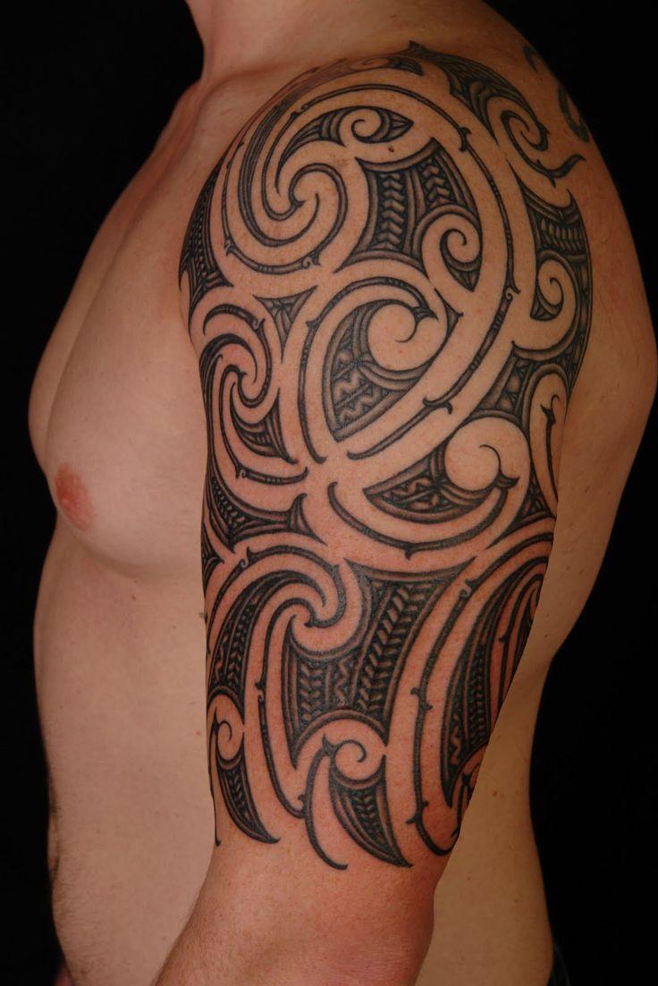 Iron eagle tattoo 25 brilliant cross tattoos for men - Sleeve Tattoos Tribal Sleeve Tattoos Designs And Ideas