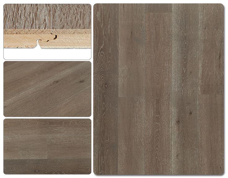 Engineered Hardwood - Hampton Wide Plank Collection - Beachfront Brown
