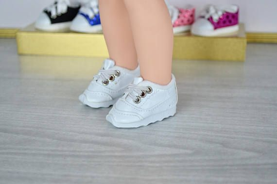 Cheer Shoes for 14 Dolls such as the Wellie Wishers by