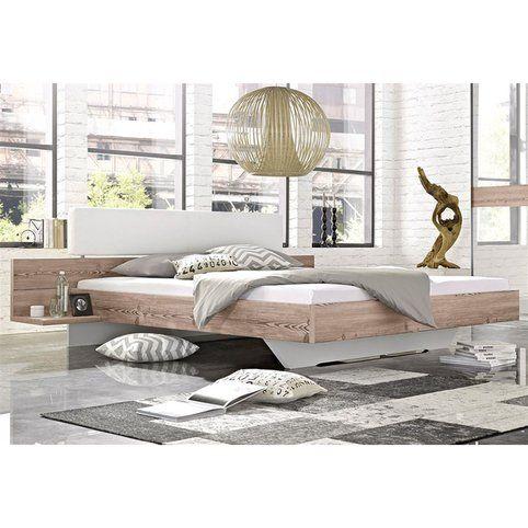 17 meilleures id es propos de lit de cuir sur pinterest - Lit avec chevets integres ...