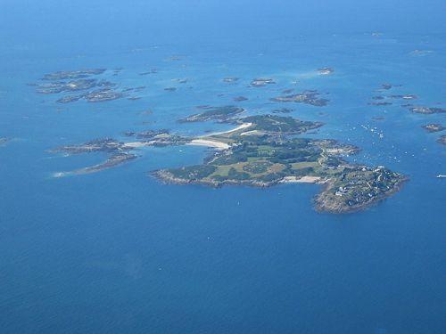 Îles Chausey, France.
