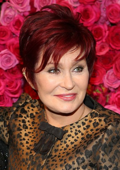 Sharon Osbourne's Red Pixie - Haute Hairstyles for Women Over 60 - Photos