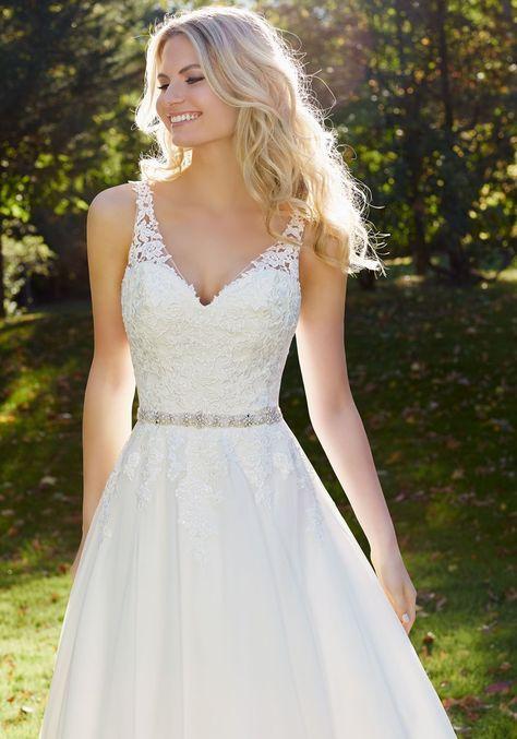 Mori Lee 3214R Wedding ceremony Gown