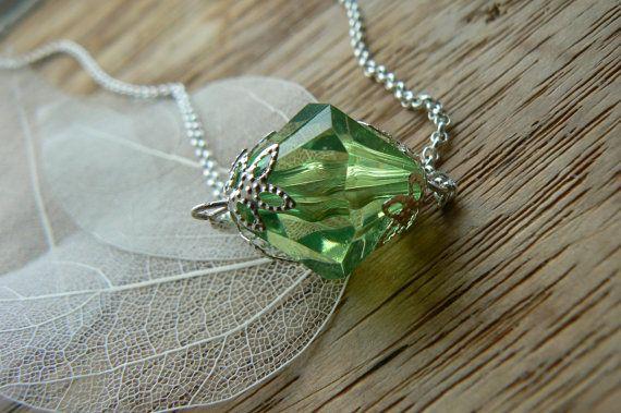 SmallVille inspired Lana Lang Kryptonite Necklace by JustJewelsLtd, £8.99