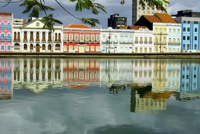 """""""Rio Capibaribe"""". Recife. Estado de Pernambuco, Brasil. (by Murilo Vidal)"""