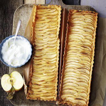 Französische Apfeltarte Rezept | Küchengötter