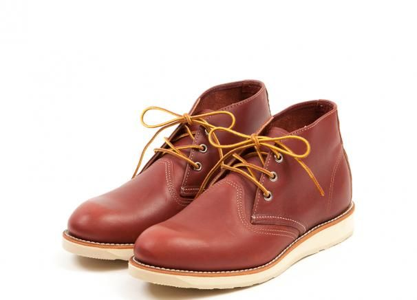 Red Wings Chukka Work Smith