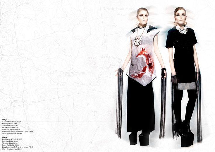 Guillotine in Citizen du Monde - A Fashion Friend Issue 39